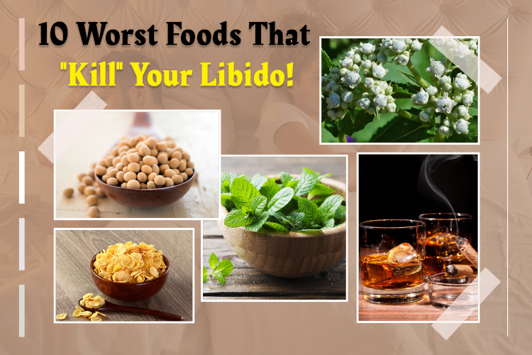 "The 10 Worst Foods That ""Destroy"" Your Libido"