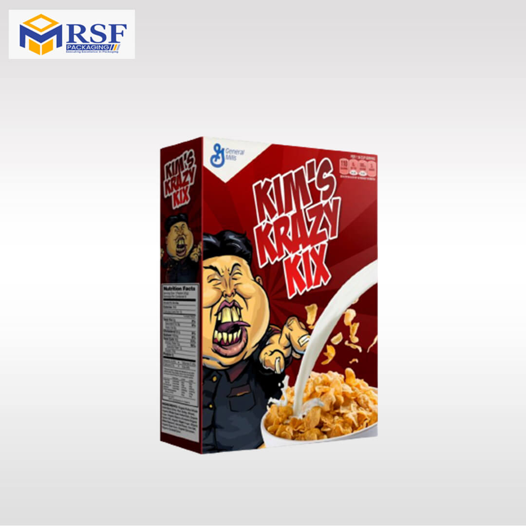 plain cereal box - The Ray And The Ro