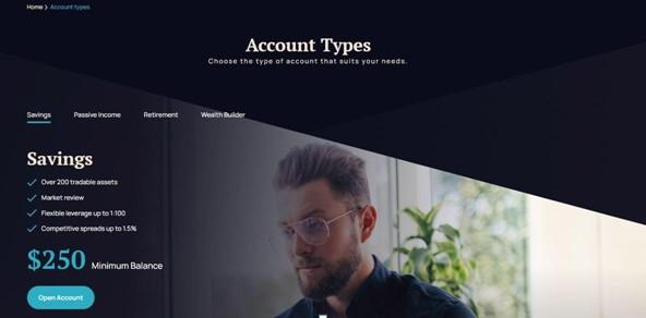 Account Types - RosewoodTrust