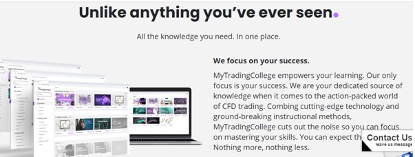 Courses with various advantages include - MyTradingCollege Review 2021