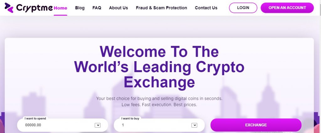 Cryptme Review 2021 – Why Did I Choose This Crypto Exchange Broker? (www.cryptme.io)